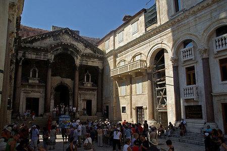 El Palacio de Diocleciano en Split