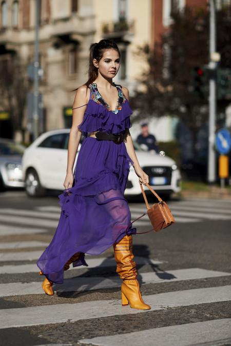 street style primavera 2018 tendencias ultravioleta