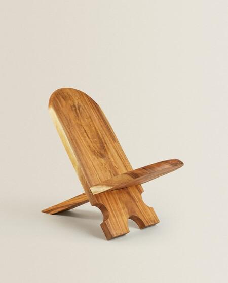 Silla de madera Zara Home