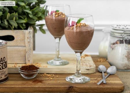 Mousse De Baileys Y Cacao