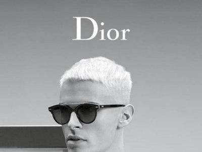 Baptiste Giabiconi convertido en maniquí para la campaña de Chanel... ¡Ah, no, no! ¡De Dior!