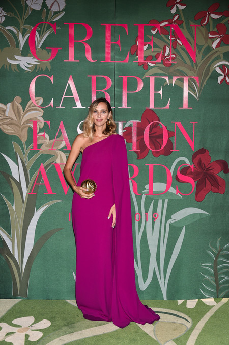 Candela Pelizza green carpet fashion awards 2019