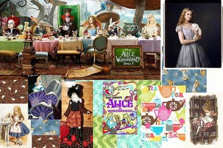 Se inicia el rodaje de la nueva producción de Disney llamada Alice in wonderland: through the looking glass