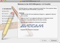 AVCCAM Importer, añade soporte AVCHD a Quicktime gracias a Panasonic