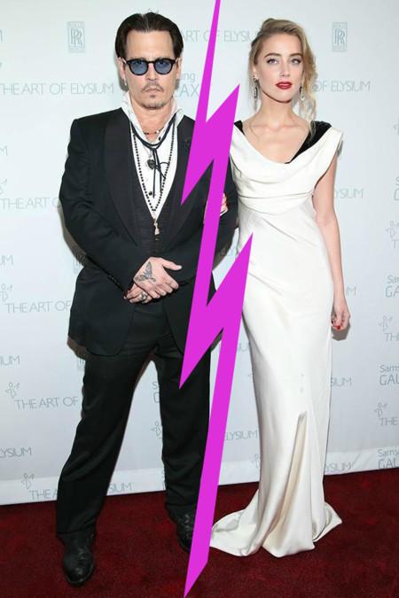 Se acabó el amor para Johnny Depp y Amber Heard