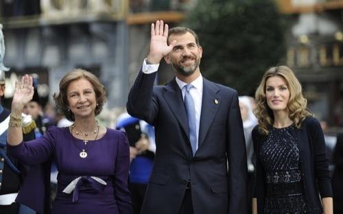 Foto de La Princesa Letizia en los Premios Príncipes de Asturias (8/10)