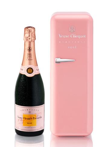 La nevera pink de Veuve Clicquot o el encanto de lo vintage