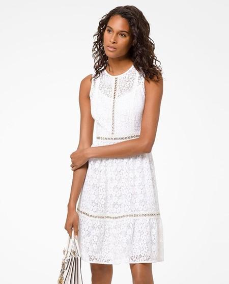 Vestido Mini Blanco Verano 2019