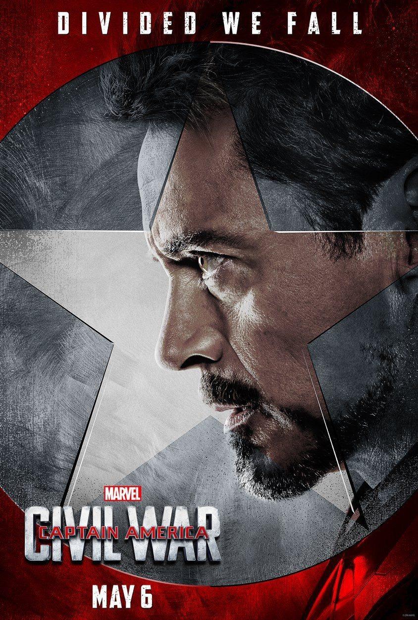 Foto de 'Capitán América: Civil War', nuevos carteles de los protagonistas (7/11)