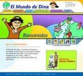 El Mundo de Dina: Una Web por los Derechos de los Niños