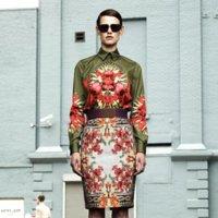 Givenchy Resort 2012: en el jardín de la alegría
