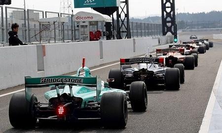 Pit Lane Super Fórmula Test Suzuka