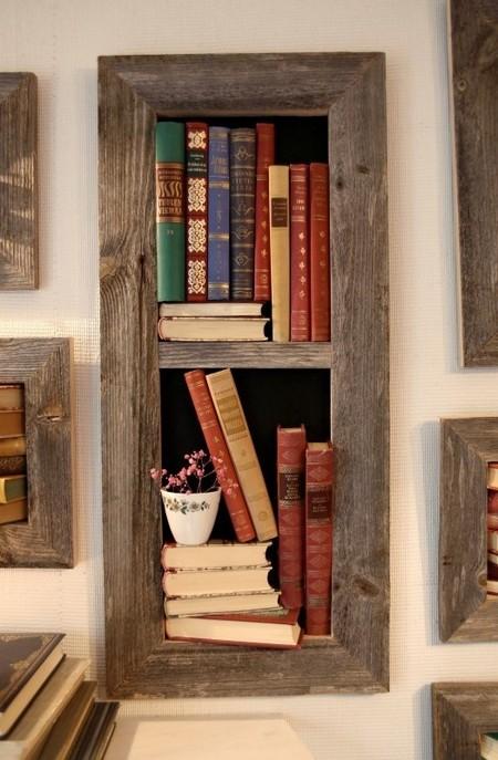 reciclaje viejos libros