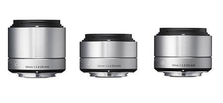 Sigma presenta nuevos objetivos para réflex y cámaras sin espejo