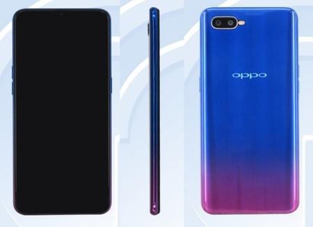 Posible lector de huellas bajo la pantalla para un futuro OPPO K1 con Snapdragon 660