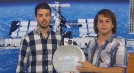 Space Helmet, un par de españoles crean un prototipo de casco para los futuros turistas espaciales