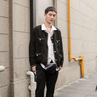 El mejor street style de la semana se lleva con tonos blancos, tal y como lo demuestran las calles de Shanghai