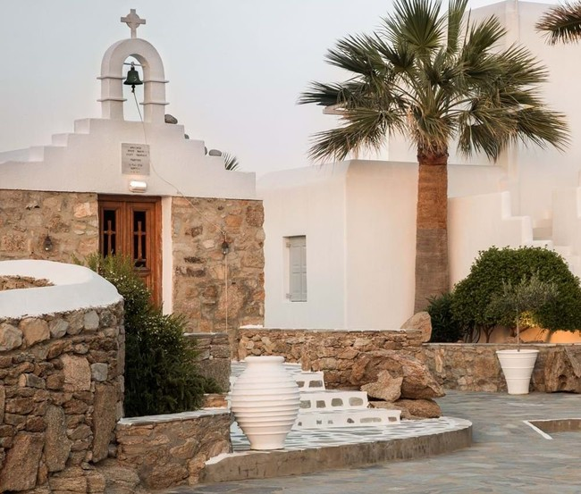Hotel San Giorgio Mykonos, decorado para la nueva generación de buscadores