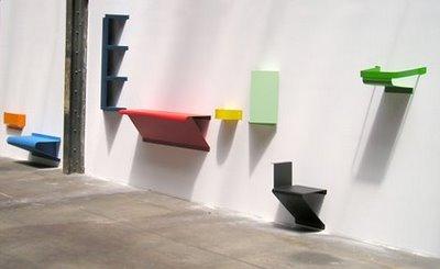 Portée Wall Furniture: muebles que aprovechan la pared en espacios pequeños