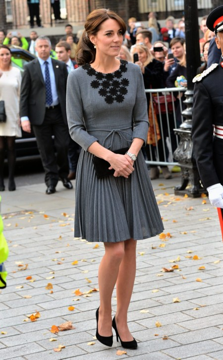 Kate middleton sobria y elegante para dar la bienvenida al for Sopas francesas famosas
