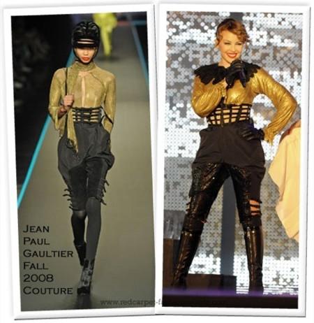 Música y moda unidos de nuevo: Kyle Minogue de Jean Paul Gaultier