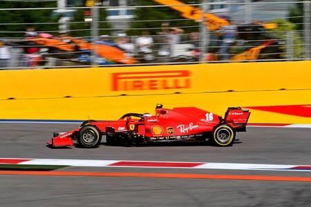 Leclerc Rusia F1 2020