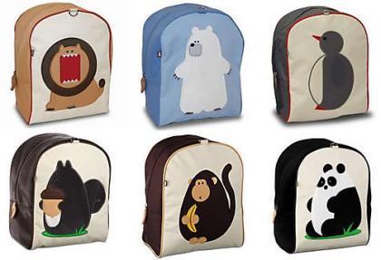 Bonitas mochilas con dibujos de animales