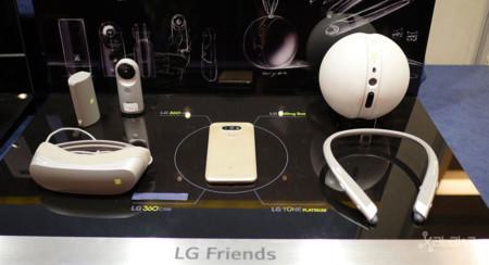 LG Friends, los accesorios del LG G5