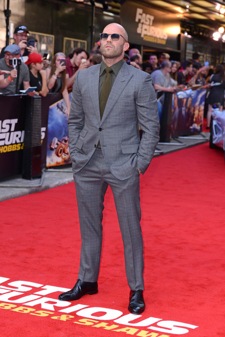 Jason Statham Alfombra Roja Red Carpet Fast And Furious Hobbs And Shaw 02
