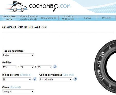 Comparador de neumáticos