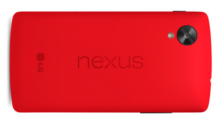 Nexus 5 rojo press