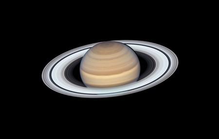 """El Hubble nos descubre el último y espectacular """"retrato"""" de Saturno y sus anillos"""