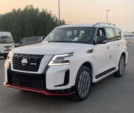 ¡Espiado! Nissan Patrol Nismo 2022 (Armada en México) se deja ver a un día de su presentación oficial