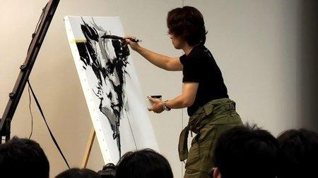 El espectáculo de ver a Yoji Shinkawa dibujando un artwork de 'Metal Gear Solid' en directo