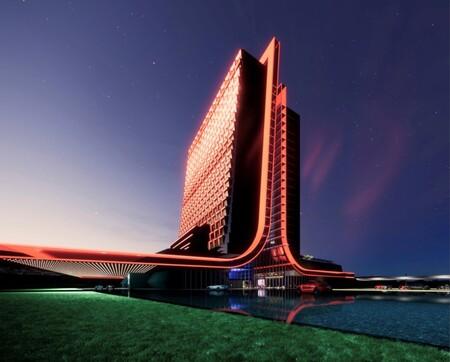 Un hotel de Atari en Gibraltar: el último y loco proyecto turístico que aunará videojuegos con retrofuturismo