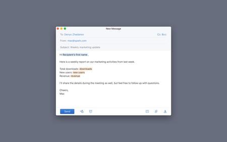 Spark añade plantillas en iOS y macOS para seguir siendo el gestor de correos de referencia