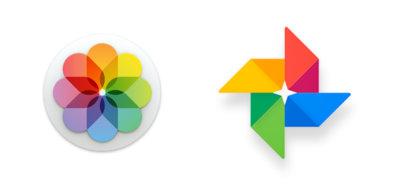 Apple Fotos y Google Fotos frente a frente