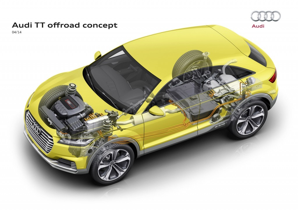 Foto de Audi TT Offroad híbrido enchufable (1/21)