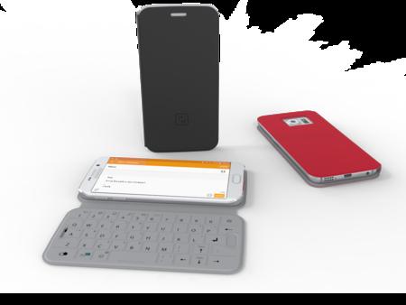 SlimType, una nueva e interesante funda con teclado físico para los Samsung Galaxy S6 y S6 edge