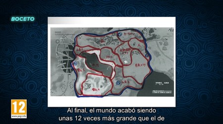 Zelda Breath Of The Wild Mapa