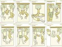 Un poco de humor: ocho posiciones de colecho