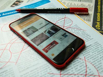 De cómo el sector de los clasificados paso del papel a la web y de la web al móvil