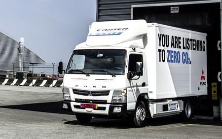 Fuso Canter E-Cell, el camión eléctrico de Daimler comienza a probarse
