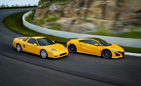 Acura NSX 2020 se viste de amarillo para conmemorar a su antecesor