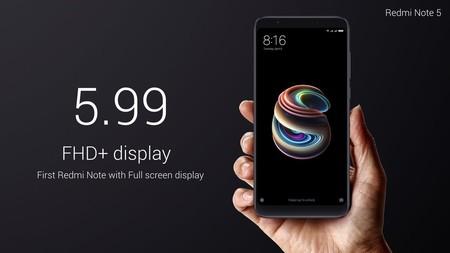 Difícil encontrar algo mejor a este precio: Xiaomi Redmi Note 5 de 64GB por 157 euros con este cupón