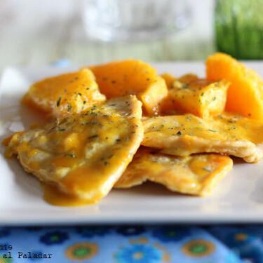 Pavo con naranja y jengibre: receta rápida, sabrosa y refrescante