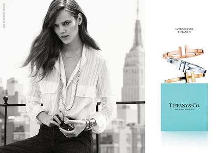 Freja Beha Erichsen posa para la nueva campaña de otoño-invierno 2014-2015 de Tiffany