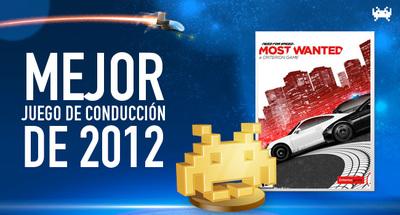 Mejor juego de conducción de 2012 según los lectores de VidaExtra: 'Need for Speed: Most Wanted'