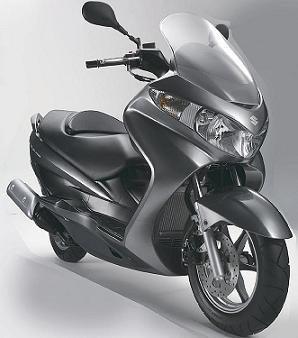 Suzuki Burgman, un scooter 'español'
