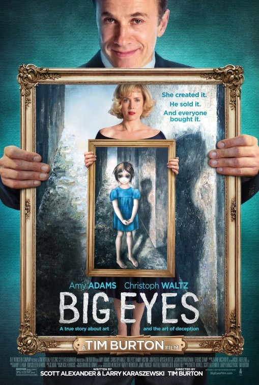 Carteles de 'Big Eyes'